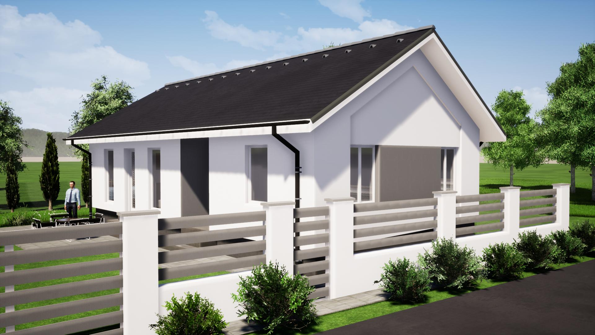 Új építésű 100.62 m² Nappali + 3 szobás lakóház megrendelhető Kecskemét Vacsihegyben!