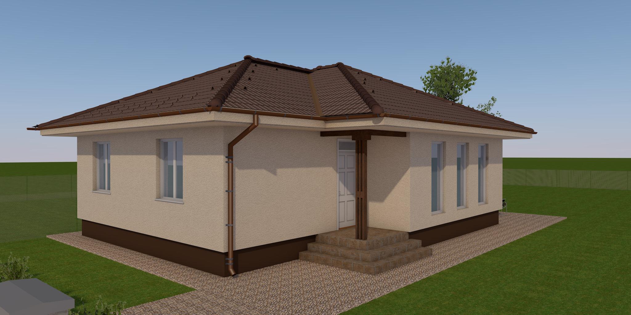Új építésű br. 97.58 m² Nappali + 3 szobás lakóház megrendelhető Kecskemét Vacsihegyben!