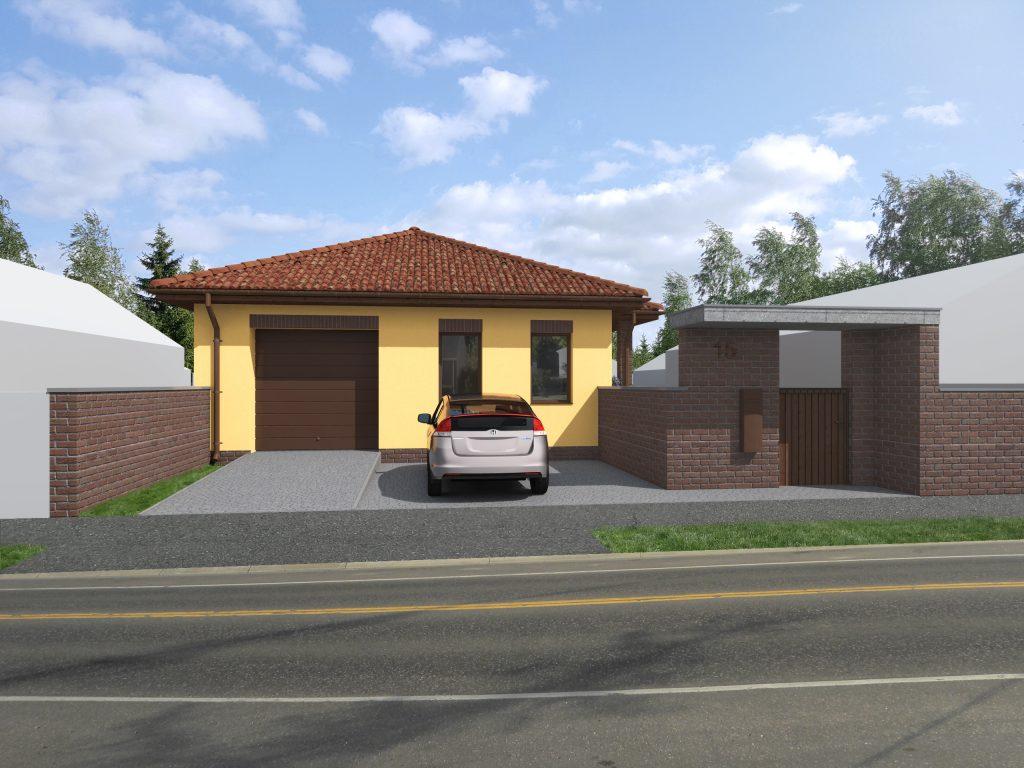 78 m²-es családi ház megrendelhető, + 20 m² garázzsal, saját telekre! 279 000 Ft/m²